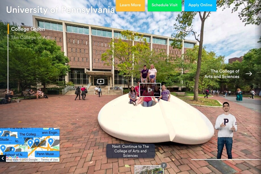 Penn virtual tour