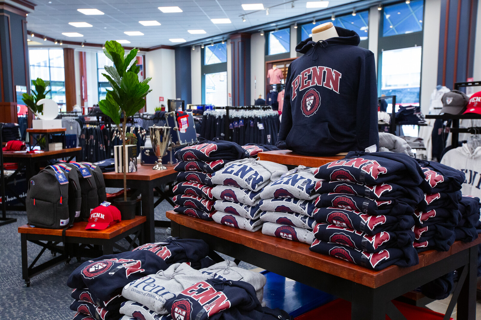penn bookstore with apparel