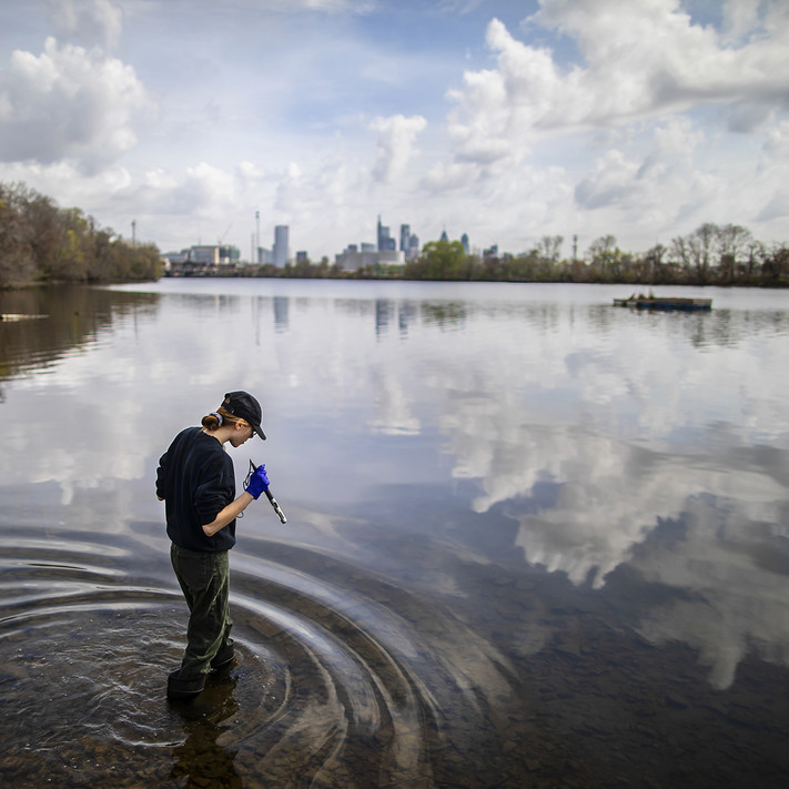 research on the Schuylkill River